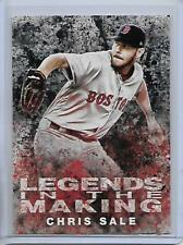 2018 Topps Chris Sale Black Parallel Legends In The Making Insert Card