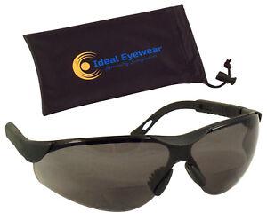 Bifocal Safety Glasses Sunglasses Sun Readers Reading Men Women Adjustable Z87.1