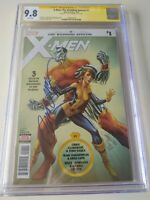 X-Men: The Wedding Special #1 J. Scott Campbell Signed 9.8 CGC