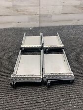 Lot of 4 Dell PowerVault MD Hard Disk/SATAU CADDY w/ Interposer Sled Tray 0CC852