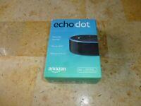 Amazon Echo Dot 2nd Generation Smart Speaker with Alexa Black Wireless