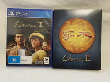 Sony PlayStation 4 Ps4 Shenmue 3 III Video Game Day 1 Edition