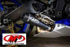 New M4 Exhaust Yamaha R6 2006 - 2017 GP GP Mount slip on with BLACK muffler