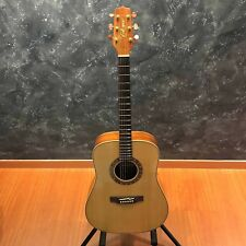 Takamine F370SS Solid Spruce Dreadnaught Koa Acoustic Guitar