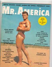 Mr America Bodybuilding Muscle Magazine/Clement Desjardins 9-60