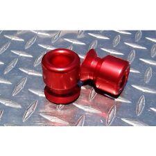 8mm Red Swingarm Spools GSXR TL1000R CBR 600RR 954 1000RR RC51 675 650R ZX10R M8