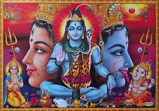 "LORD SHIVA ~ DURGA KALI * KAALI MAA ~ Ganesh Kartik - Great Big POSTER 20""x30"""
