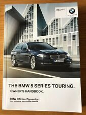 buy bmw 5 series 2012 car owner operator manuals ebay rh ebay co uk BMW 5 Series Touring Humster3D 2014 BMW 5 Series GT