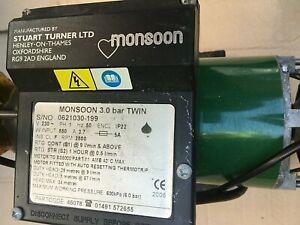 Stuart Turner Monsoon Positive Duty 3.0 bar Twin Shower Pump 46078