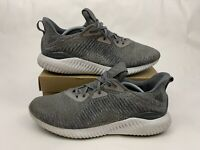 Adidas Alphabounce Running Shoes HPC AMS Size 11 M US Grey Running Shoes BY4327