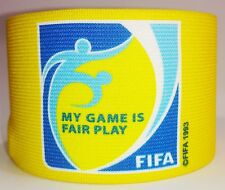 FIFA Fair Play Captain Armband Fascia Capitano Brazalete Capitan Portugal Euro