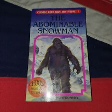 Choose Your Own Adventure - Book 1 The Abominable Snowman - Fantasy Gamebook