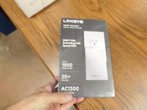 Linksys Velop WHW01P IEEE 802.11ac 1.27 Gb/s Wireless Range Extender WHW0101P