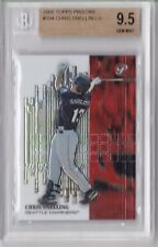 2002 Topps Pristine Chris Snelling Rookie Graded BGS 9.5