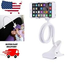 360° Flexible Clip Holder Long Arm Car Bed Desk Lazy Stand Mount For Cell Phone