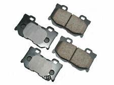For 2014-2015 Infiniti Q50 Brake Pad Set Rear Akebono 13398SC