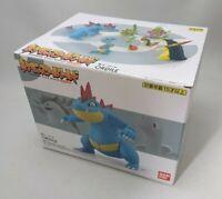 Pokemon Jyoto Feraligatr Pokemon Scale World Figure Bandai 1/20 from Japan