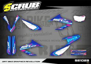 Yamaha dekor WR 125R 2009 - 2020 Aufkleber '09 - '20 SCRUB grafik kit WR125R