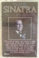"FRANK SINATRA ""THIS LOVE OF MINE"" CASSETTE 1984 capitol sealed"