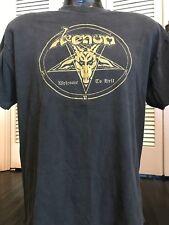 VTG Venom Welcome To Hell Tour Shirt Sz L Slayer Rock Exodus Metal Metallica Dio