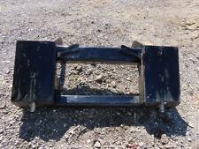 2013 Jlg Skid Steer Adapter Quick Connect Mount Plate Telehandler bidadoo