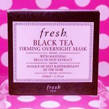 FRESH BLACK TEA FIRMING OVERNIGHT MASK FULL SIZE 3.3 OZ  SEALED 100% AUTHENTIC