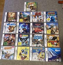 Nintendo DS Spiele Sammlung Filme