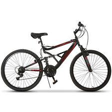 """26"""" Mountain Bike 18 Speed Bicycle Shimano Hybrid Suspension Sports Rocker"""