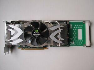 nVidia Quadro FX 4500 PCIe Graphics Card 512MB GDDR3 2x DVI 1x Stereo/3D