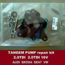 Fuel vacuum tandem pump repair seals kit Skoda Oktavia Superb 2.0TDI 2.0TDI 16V