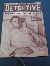 Détective 1954 417 MONTFERMEIL ANDRéSY MAILLEBOIS POURGUES LA FERTé BERNARD LOUV