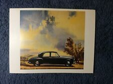 "1955 BENTLEY 'S' SERIES CAR 4 1/2"" by 6 1/4"" COLOR POST CARD #25"