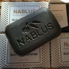 3er Pack Nablus Soap SCHWARZKÜMMEL Olivenölseife Naturkosmetik vegan Seife Olive