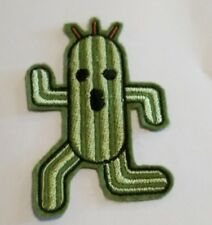 Cactuar Final Fantasy embroidered patch iron or sew on
