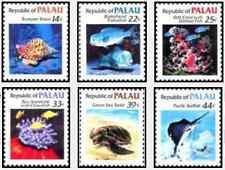 Timbres Faune marine Palau 69/74 ** lot 18533