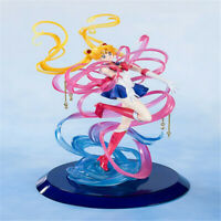 Anime Sailor Moon Action Figure Model Toy PVC Statue Doll With Box In stock 25cm