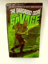 The Sargasso Ogre Doc Savage 1967 vintage science fiction book first edition