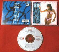 SABRINA SALERNO Super Sabrina 1989 WEST GERMANY CD TOP METRONOME 1pr ITALO DISCO