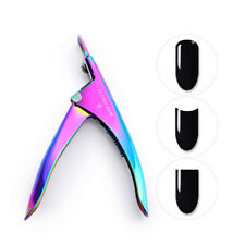BORN PRETTY Nail Tips Edge Cutter Clipper Stainless Steel Fake Nails Nipper Tool
