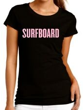 "Surfboard ""Beyonce"" Drunk in Love Crew Fitted T-Shirt"