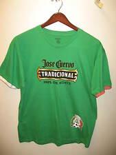 Jose Cuervo Agave Tequila Mexico Flag National Team Football Soccer T Shirt XLrg