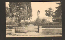GANNAT (03) GRILLE Fer Forgé du JARDIN & MONUMENT