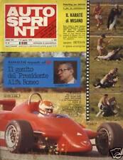 AUTO SPRINT-N°32-ANNO 1979- LA FRECCIA ALATA DI CHITI