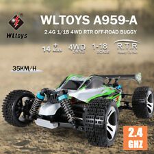WLtoys A959-A 2.4G 1/18 Scale 4WD Electric RTR Off-road Buggy RC Car S8H6