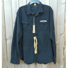 TAILOR VINTAGE MENS 2 IN 1 REVERSIBLE BUTTON DOWN SHIRT, Long Sleeve, XXL