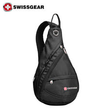 SwissGear Men's Shoulder Bag Cross body sling bag Winter Sports Chest Pouch bag