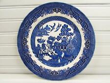Churchill China Royal Wessex Victoriano Calico Placa de Chelsea Azul Y Blanca