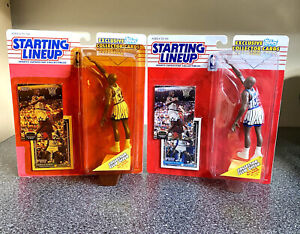 1993 Shaquille O'Neal Rookie Starting Lineup 2 Pc Lot 4 Rookie Cards!🔥🏀