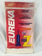 GENUINE EUREKA 52339 ULTRA UPRIGHT DISPOSABLE DUST BAGS STYLE Z (3-3 PACK) 9 CT