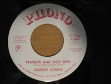 George Adkins - Peanuts And Billy Beer / She Won't Let Go Of Me - 1977 Phono 45
